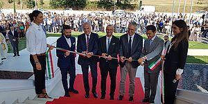 Inaugurata nuova sede Renco, Ricci: «Investimento importante per il lavoro»»