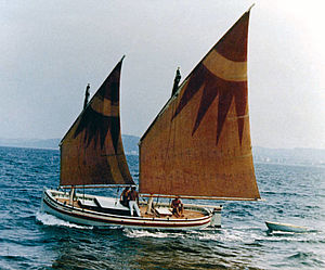 Museo della Marineria - uomo in barca