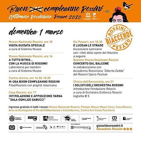 Rossini riaccende Pesaro