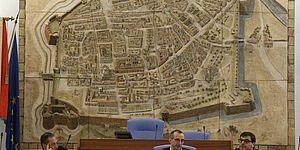 bassorilievo sala consiglio Matteo Ricci