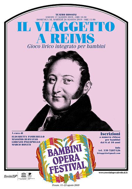 Viaggetto a Reims manifesto