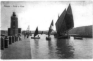 Immagine storica del porto