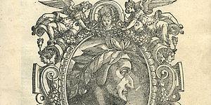 """Dante frontespizio  """"Edizione del gran Naso"""" 1578"""