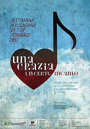 Manifesto Centenario Rossiniano 2017