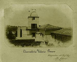 "L'osservatorio ""Valerio"" a fine '800"