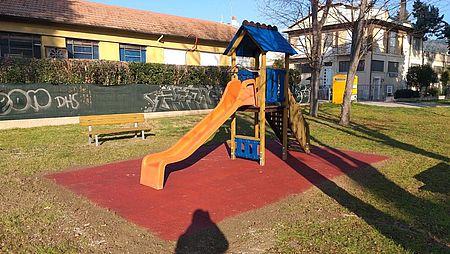 Risistemato il parco giochi di via San Marino angolo via Terni