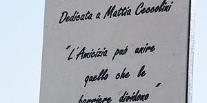 Intitolata la palestrina della Celletta a Mattia Ceccolini