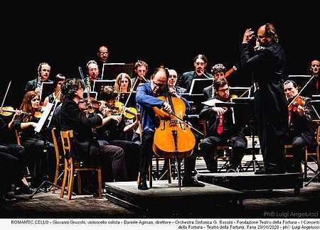 Giovanni Gnocchi violoncello solista