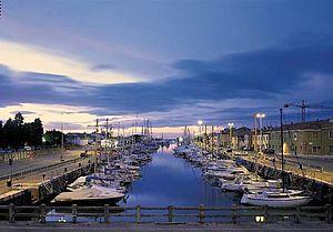 Il porto di Pesaro