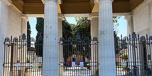 Cancello cimitero centrale di Pesaro