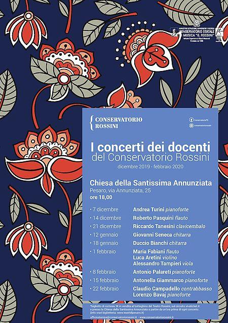 concerti dei docenti del Conservatorio Rossini