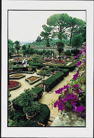 Giardini all'italiana di Villa Caprile