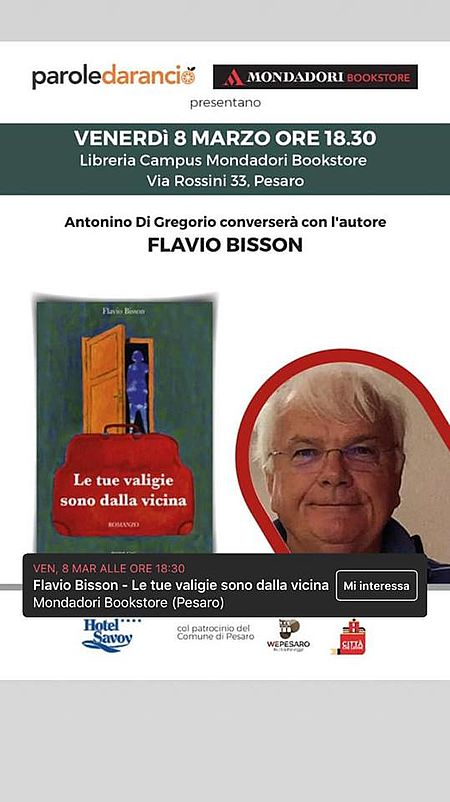 Flavio Bisson_locandina evento