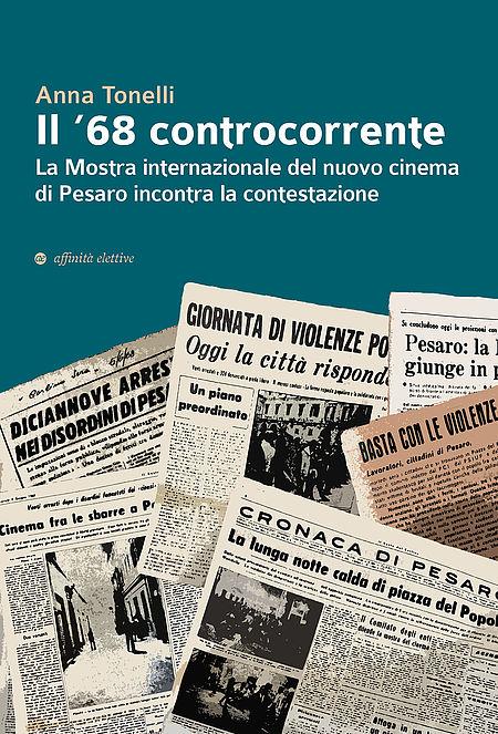 """Anna Tonelli """"Il 68 controcorrente"""". Copertina libro"""