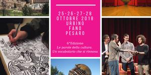 Festival del giornalismo culturale 2018