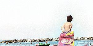 Spiaggia libera. ph. Marco Bracci