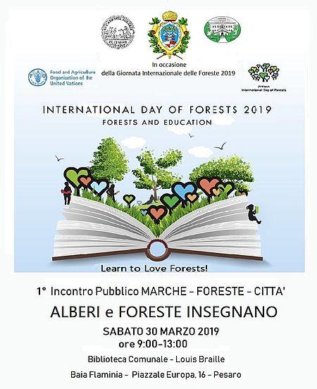 Immagine del Forum Foreste 30 marzo 2019 a Pesaro