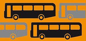 banner immagine autobus