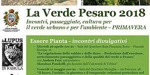 La Verde Pesaro programma primavera 2018
