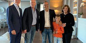 Ricci incontra Tony Blair e lo invita al Rof