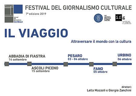 Festival del Giornalismo Culturale 2019