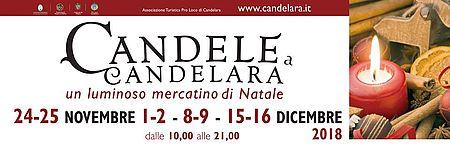"""Banner evento """"Candele a Candelara"""""""