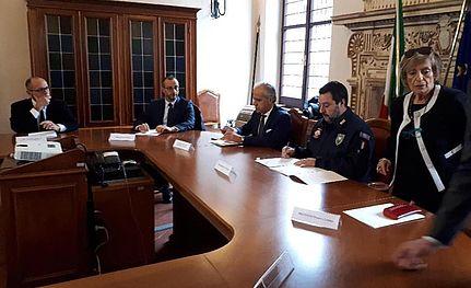 Ricci a Salvini: 'ridurre il numero dei collaboratori di giustizia in città'