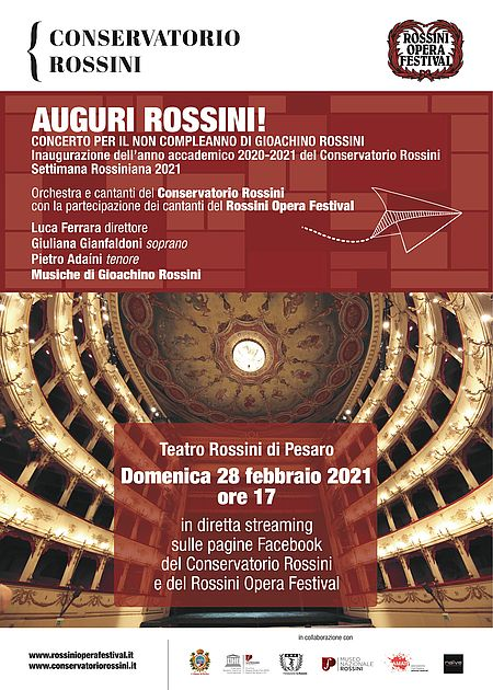 Auguri Rossini! manifesto