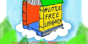 Little free library Parco dei tigli Borgo santa Maria