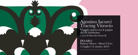 Agostino Iacurci. Tracing Vitruvio