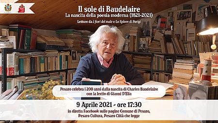Gianni D'Elia Il sole di Baudelaire