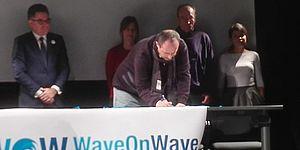"""Progetto Wave on wave"""",  sottoscritto in Spagna il """"Memorandum"""""""