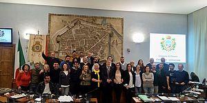 il consiglio comunale si congeda