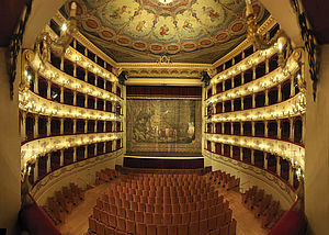 Interno Teatro Rossini