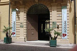 Palazzo Montani Antaldi ingresso