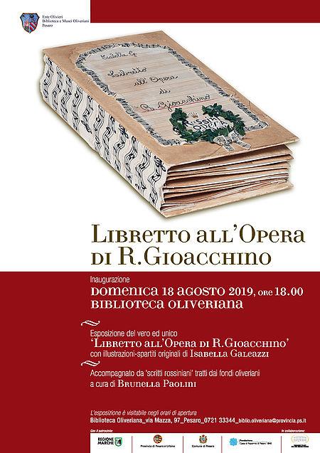 LIBRETTO ALL'OPERA DI R. GIOACCHINO