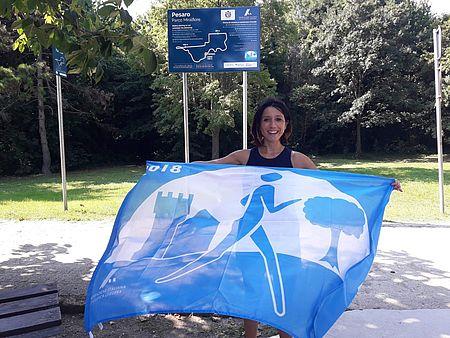 inaugurato percorso della 'bandiera azzurra' al parco miralfiore