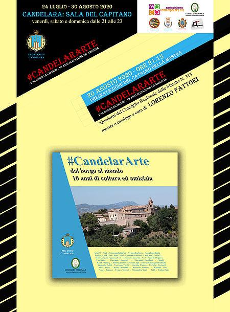 catalogo della mostra #CandelarARTE