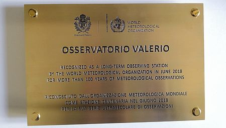 Targa Osservatorio Valerio