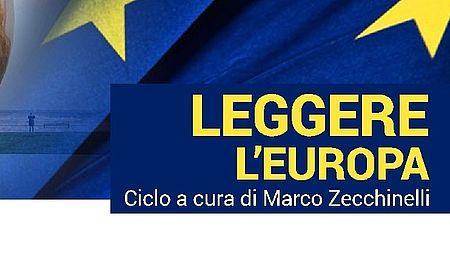 immagine con la Palla di Pomodoro e la bandiera dell'Unione europea