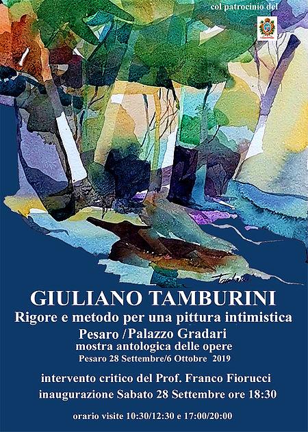 Giuliano Tamburini manifesto