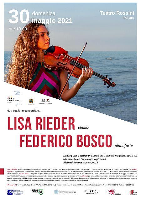 Lisa Rieder, Federico Bosco