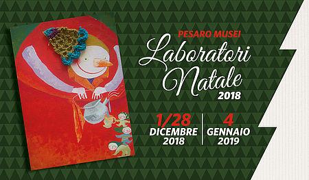 Cartolina Laboratori Natale Musei 2018