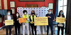 Ricci Mengucci Della Dora Pozzi e volontari quartieri