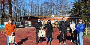 Ricci Della Dora ed altri  al campo scuola