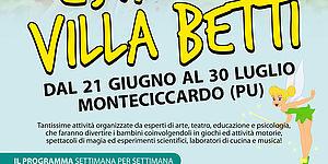 Volantino Estate a Villa Betti