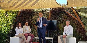 Ricci: «Porto rinasce con investimenti pubblici e Cantiere Rossini»