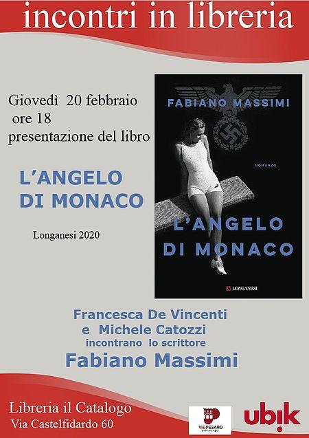 Incontri in Libreria. 'L'angelo di Monaco'