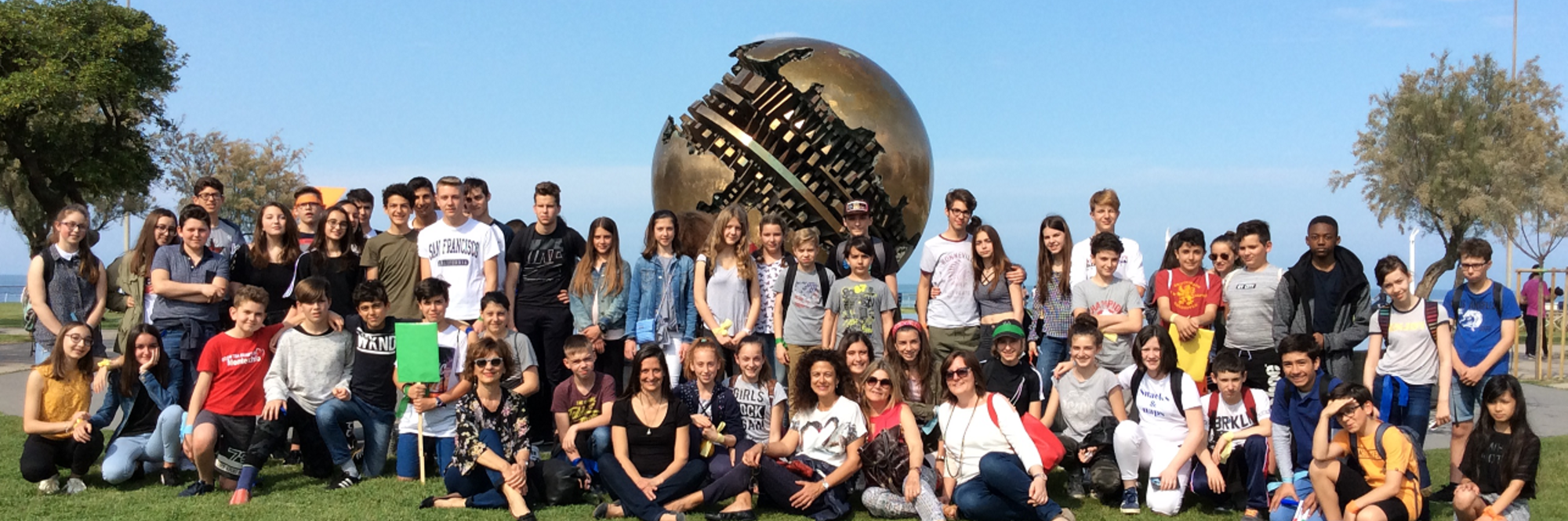 Immagine gemellaggio scuole Pesaro Bordeaux