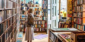 una ricca libreria